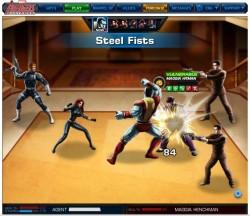 Marvel: Avengers Alliance has got some punch