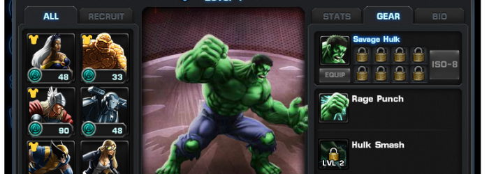 Marvel: Avengers Alliance - Recruit your favourite heros
