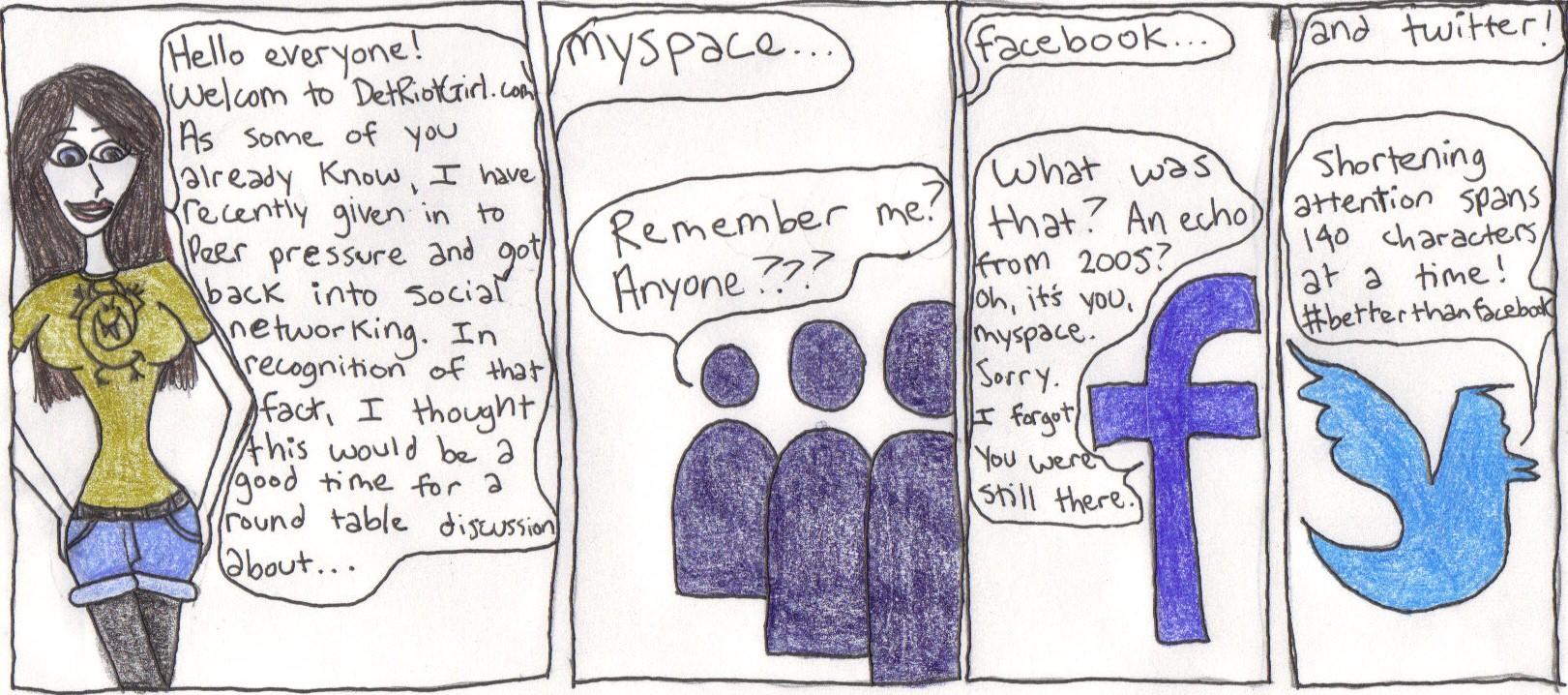 Social Network parody
