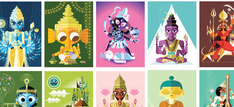 Hindu Gods Reimagined