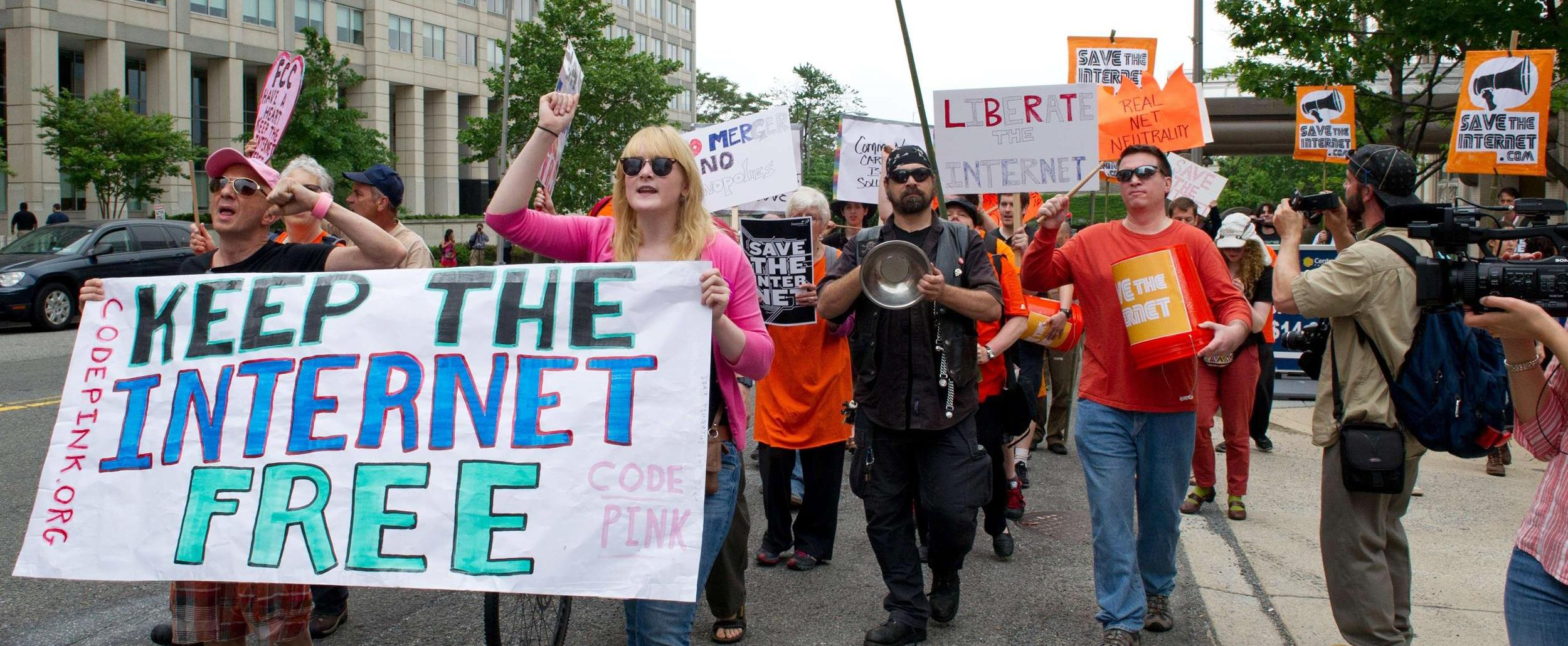 Net Neutrality FCC Protests